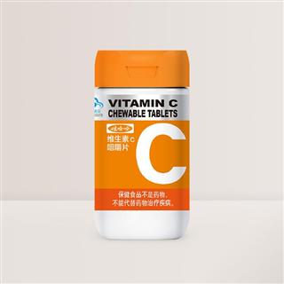娃哈哈 维生素C咀嚼片 1g(1*60*12)