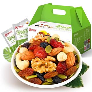 味滋源每日坚果混合坚果30包孕妇零食坚果大礼包干果