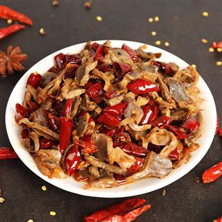 网红零食香辣鸭胗120g*2鸭肫鸭肉零食小吃肉类卤味辣味熟食鸭胗干