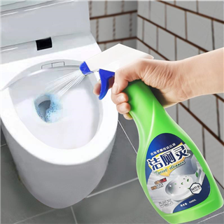 (29.9元5瓶)洁厕灵液马桶清洁剂厕所卫生间洁厕剂蓝泡泡洁厕灵(偏远地址不发)